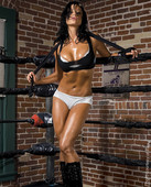 z0lda5q6twr5 Layla, Candice Michelle & Beth Phoenix In FLEX Magazine