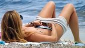 Gemma Mengual Pillada En Topless Formentera